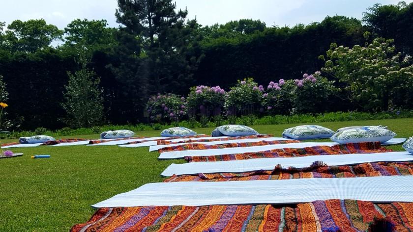 Gratis Yoga in de tuin 25 juni