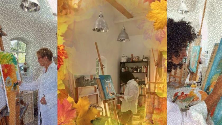 Workshop yoga en intuitief schilderen 20 november