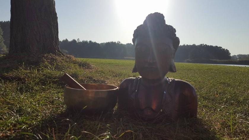 Yoga aan de plas 23 augustus